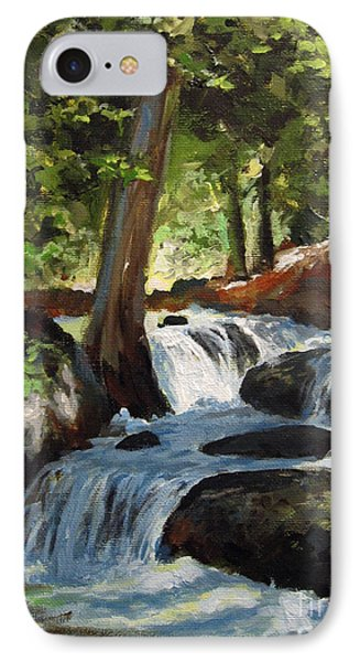 Hidden Waterfall IPhone Case by Carol Hart