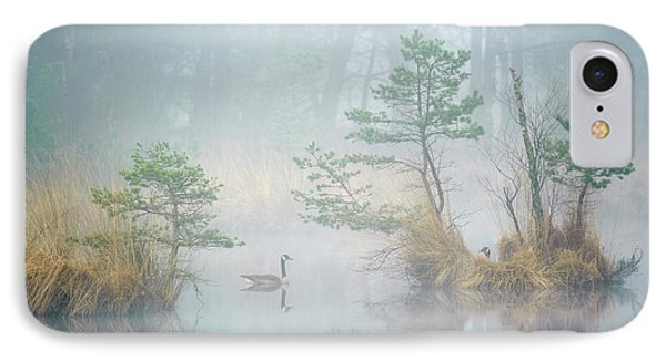 Geese iPhone 7 Case - Hide And Seek by Andrew George