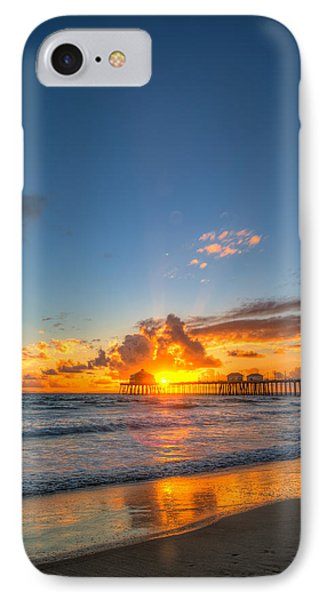 Hiding Sunset IPhone Case by Andrew Slater