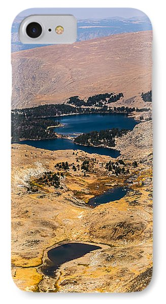 High Altitude Lakes Phone Case by Sue Smith