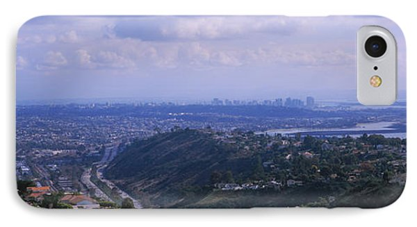 High Angle View Of A Bridge, Coronado IPhone Case by Panoramic Images