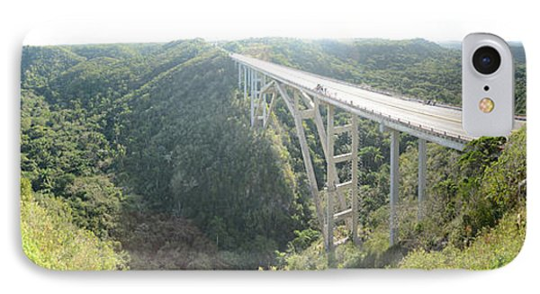 High Angle View Of A Bridge, El Puente IPhone Case