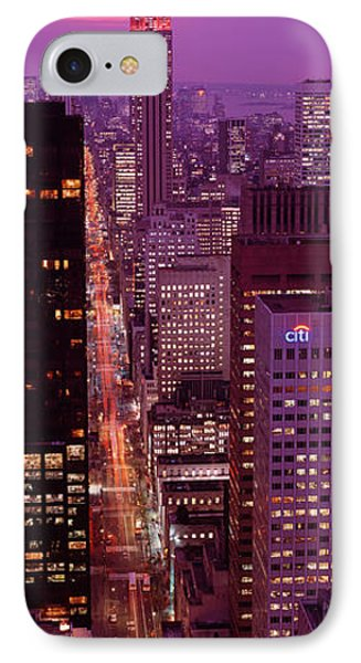 High Angle View Of A City, Fifth IPhone Case by Panoramic Images