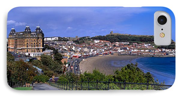 High Angle View Of A City, Scarborough IPhone Case by Panoramic Images