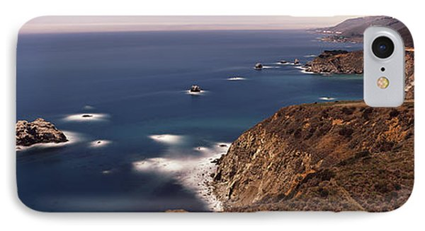 High Angle View Of A Coastline, Big IPhone Case