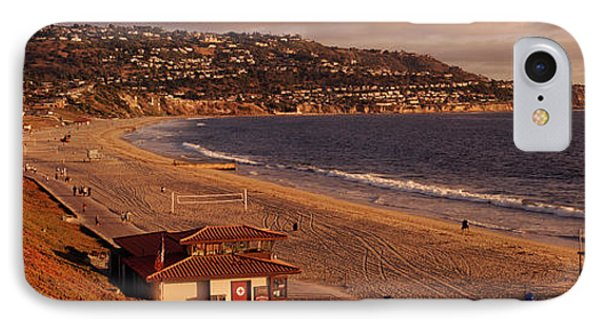 High Angle View Of A Coastline, Redondo IPhone Case by Panoramic Images