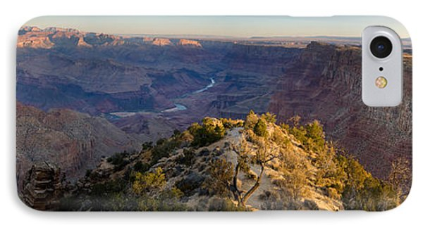 High Angle View Of Desert Point, South IPhone Case by Panoramic Images