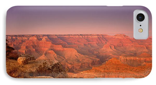 High Angle View Of Mountains, Grand IPhone Case by Panoramic Images