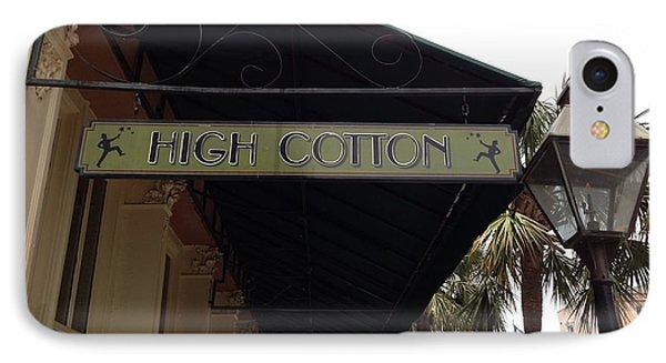 High Cotton IPhone Case by M West