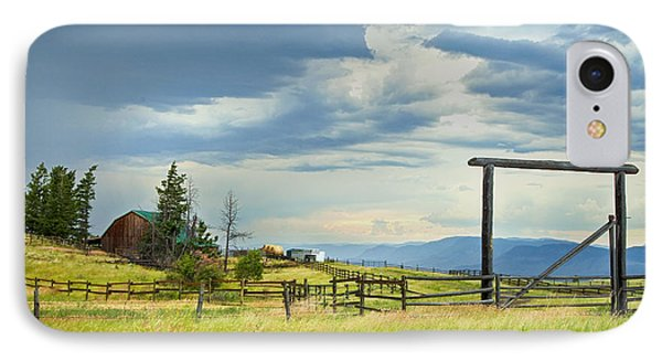 High Country Farm Phone Case by Theresa Tahara