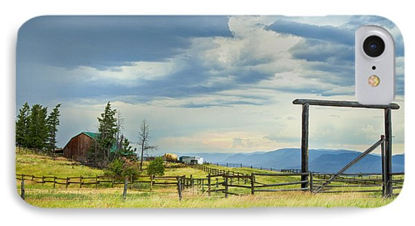 High Country Farm IPhone Case