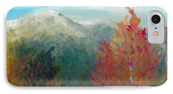 IPhone Case featuring the painting High Country View by C Sitton