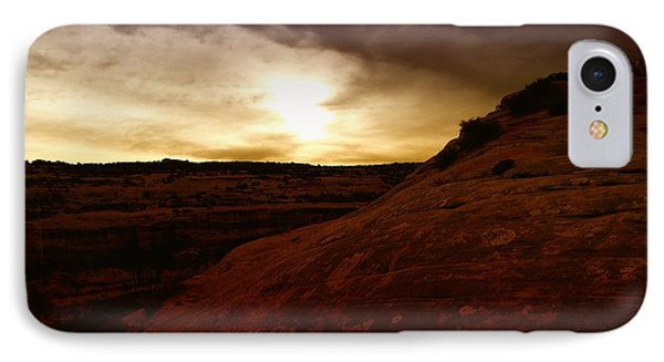 High Desert Clouds Phone Case by Jeff Swan