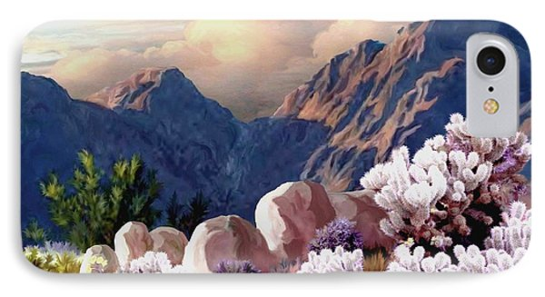 High Desert Sunrise IPhone Case by Ron Chambers