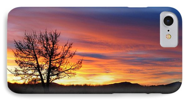 IPhone Case featuring the photograph High Desert Sunset by Kevin Desrosiers