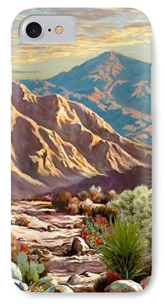 High Desert Wash Portrait IPhone Case by Ron Chambers