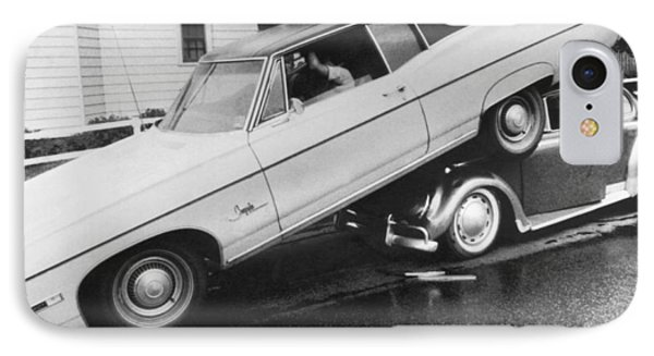 High End Auto Accident IPhone Case by Underwood Archives