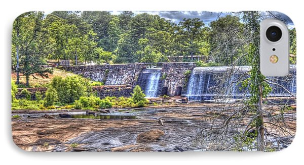 IPhone Case featuring the photograph High Falls Dam by Donald Williams