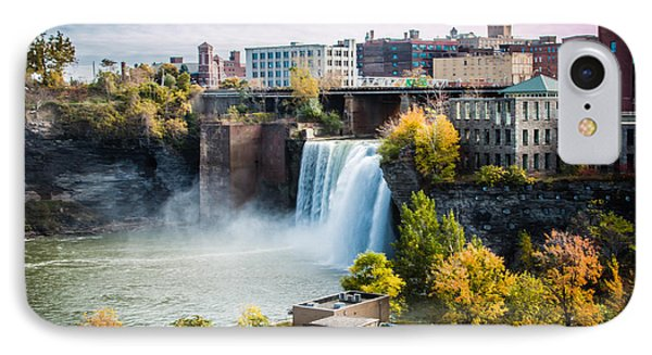 High Falls Rochester IPhone Case by Sara Frank