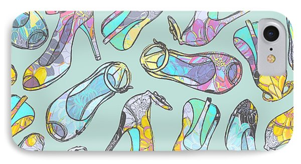High Heels IPhone Case by Laurence Lavallee