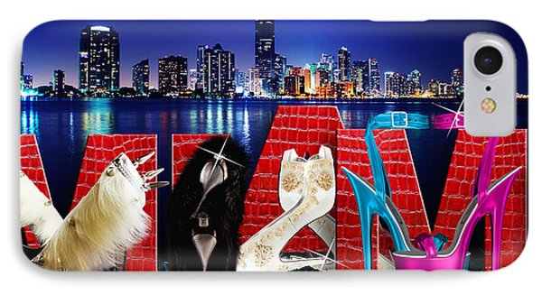 High Heels Miami IPhone Case