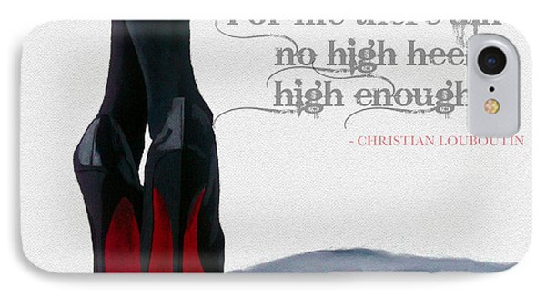 High Heels IPhone Case by Rebecca Jenkins
