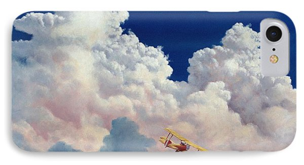 High In The Halls Of Freedom IPhone Case by Michael Swanson