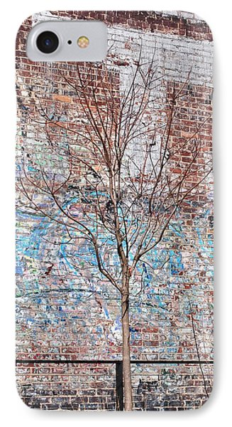 High Line Palimpsest IPhone Case by Rona Black