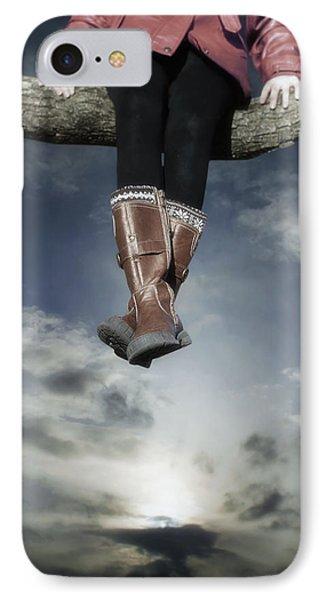 High Over The World Phone Case by Joana Kruse