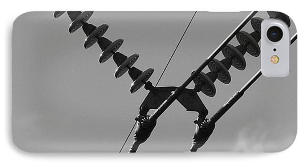 IPhone Case featuring the photograph High Power Lines - 3 by Kenny Glotfelty