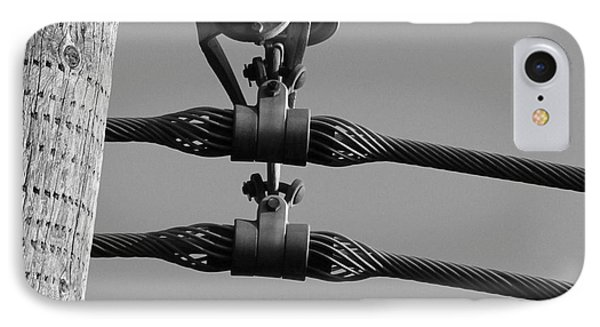 IPhone Case featuring the photograph High Power Lines - 5 by Kenny Glotfelty