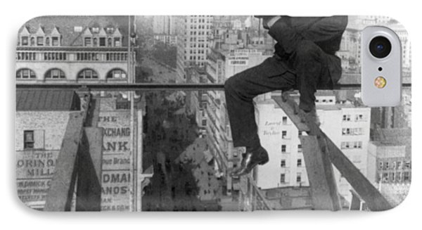 High Rise Photographer IPhone Case by Underwood & Underwood
