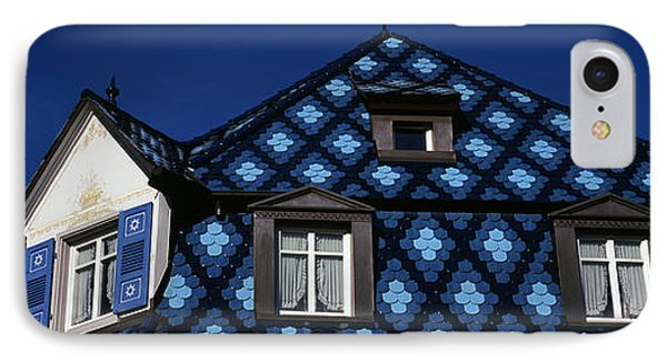 High Section View Of A House, Germany IPhone Case