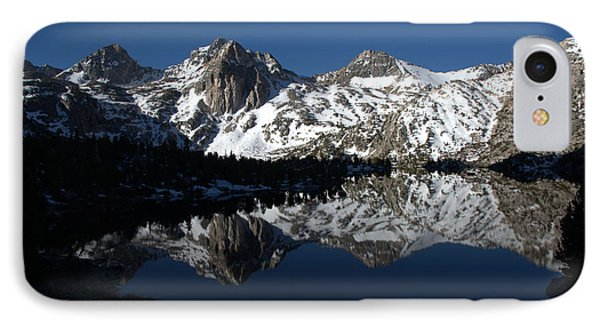 High Sierra Mountain Reflections 1 IPhone Case by Jane Axman
