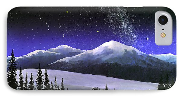 High Sierra Night IPhone Case by Douglas Castleman