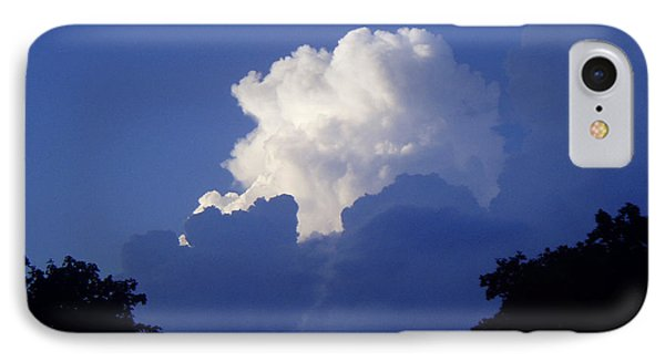 High Towering Clouds IPhone Case by Verana Stark