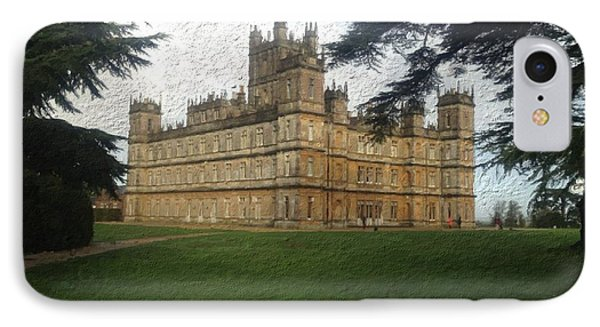 Highclere Castle Downton Abbey 2 IPhone Case