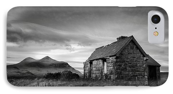 Highland Cottage 2 IPhone Case