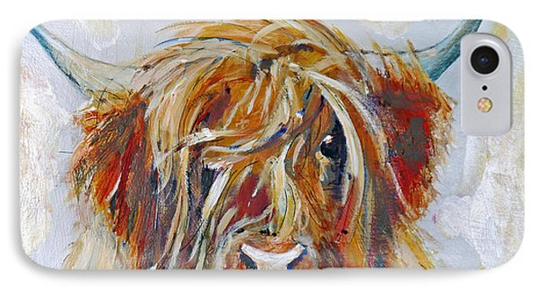 Highland Cow IPhone Case by Peter Tarrant