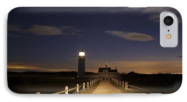 Highland Light North Truro IPhone Case