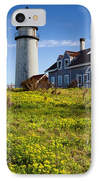 Highland Light Spring IPhone Case by Bill Wakeley