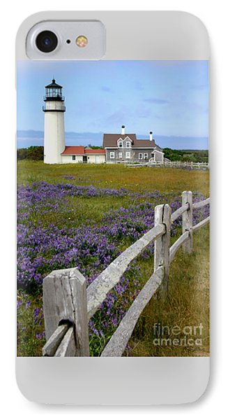 IPhone Case featuring the photograph Highland Lighthouse by Paula Guttilla