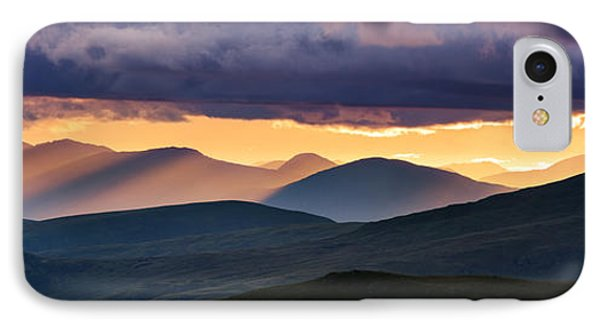 Scottish Highlands From Meall Nan Tarmachan IPhone Case