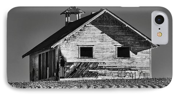 Highland School House IPhone Case by Mark Kiver