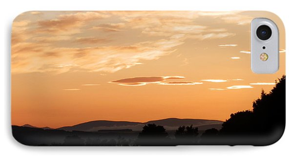 Highland Sunset IPhone Case by Carolyn Cable