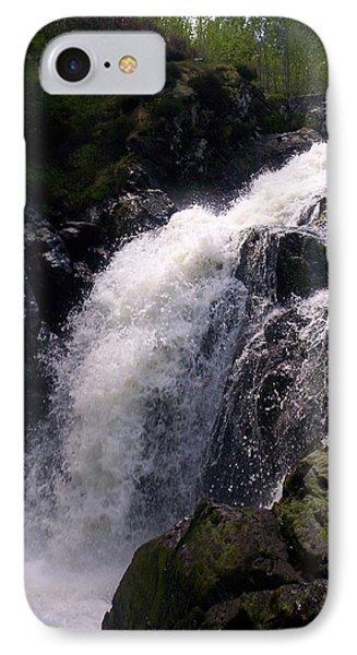 Highland Waterfall Phone Case by R McLellan