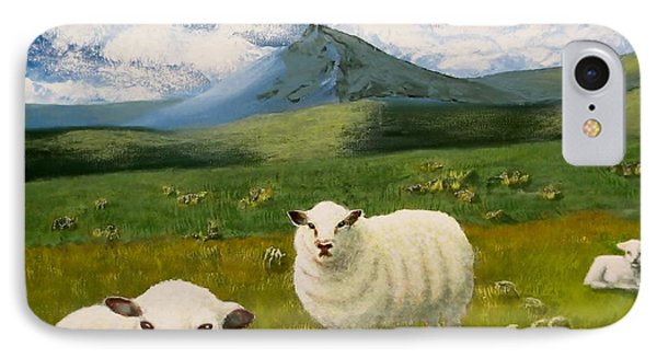 Highlands Sheep IPhone Case