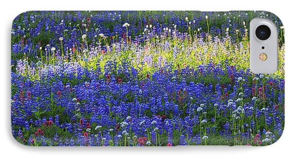 Highlight Of Wild Flowers IPhone Case by Mark Kiver