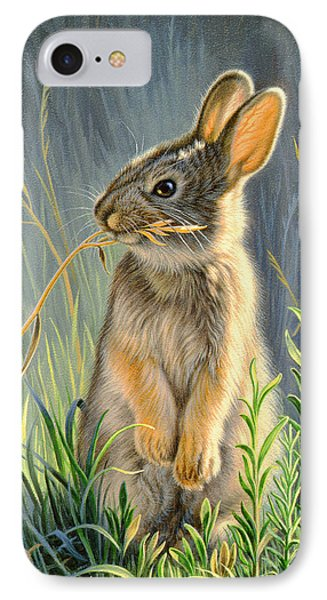 Rabbit iPhone 7 Case - Highly Selective by Paul Krapf