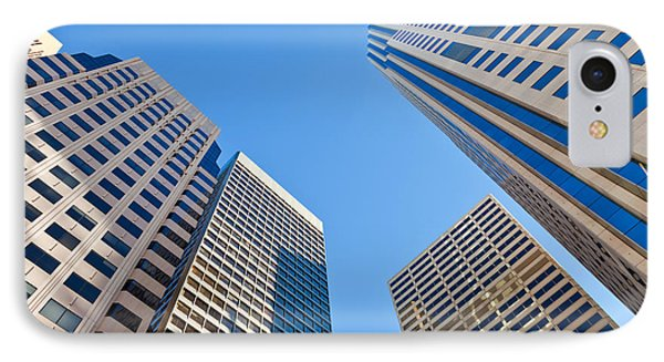 IPhone Case featuring the photograph Highrises by Jonathan Nguyen